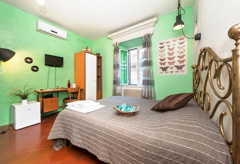 Signor Suite Colosseo, Rome, Standaard tweepersoonskamer, 1 slaapkamer, Uitzicht op de stad (Private Bathroom), Woonkamer