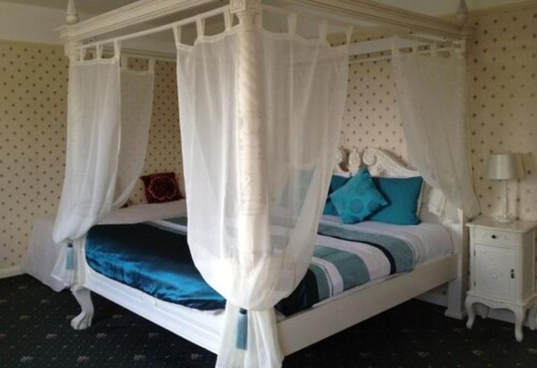 Hammonds Park Guest House, Tenby, Двухместный номер с 1 двуспальной кроватью (Four Post Superking), Номер