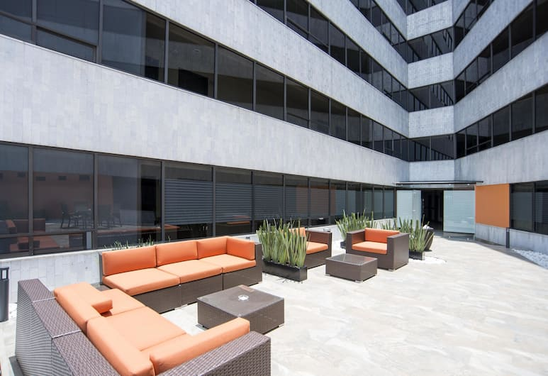 Hotel Brasilia, Mexico City, Terrace/Patio
