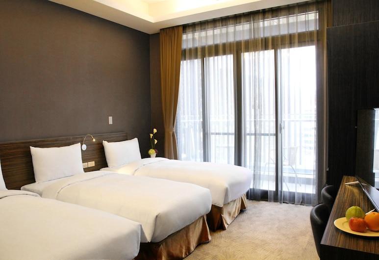 首都大飯店 - 松山館, 台北市, 三人房, 客房景觀