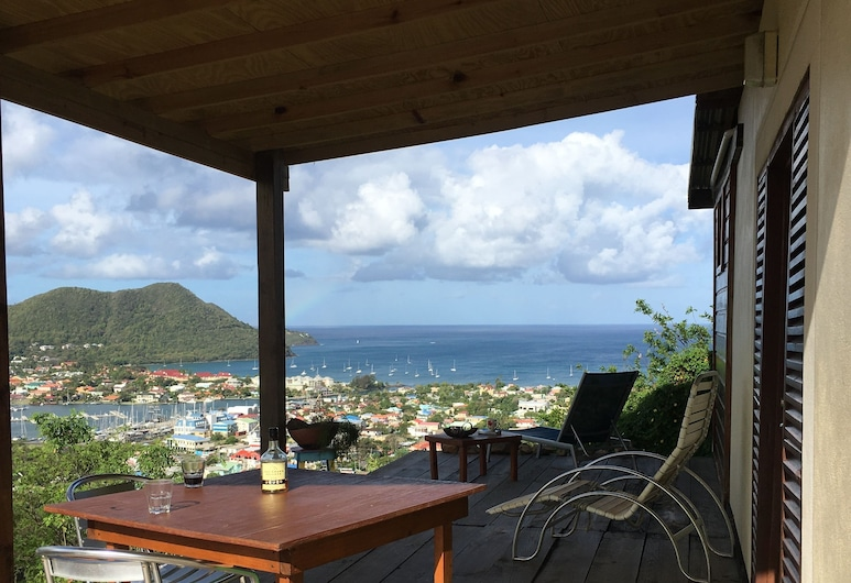 Italian Guesthouse, Gros Islet, Terrace/Patio