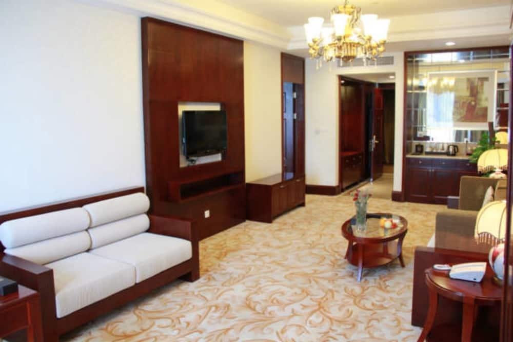 Business-Zimmer, 1King-Bett - Wohnbereich