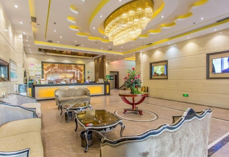 格林豪泰廣州長隆歡樂世界員崗地鐵站商務酒店, Guangzhou, 大堂