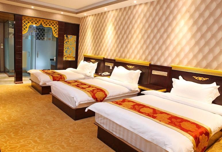 Peacock Princess Hotel, Xishuangbanna Dai, Herbergi