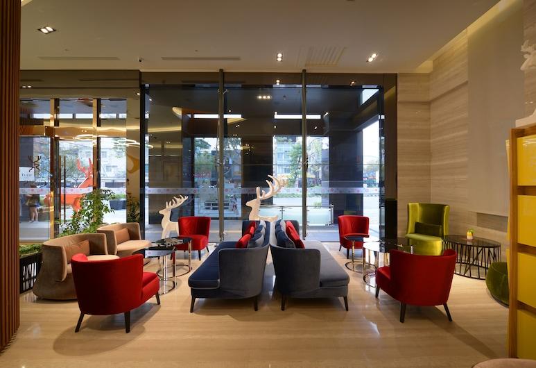 Golden Tulip Glory Fine Hotel, Tainan, Sitteområde i lobbyen