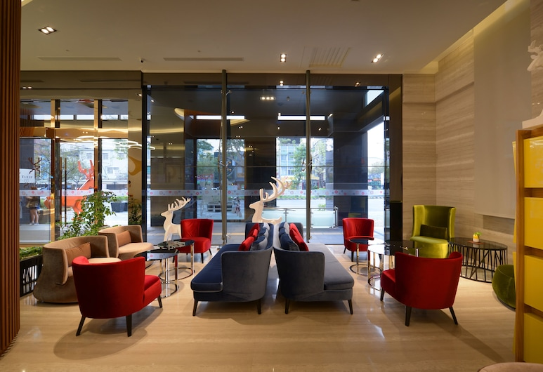 Golden Tulip Glory Fine Hotel, Tainan, Sitzecke in der Lobby