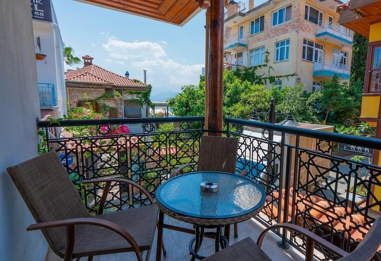 Antalya Inn, Antalya, Familiekamer, Balkon