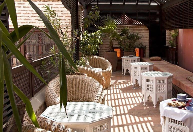 Riad Zolah, Marrakech, Taras/patio