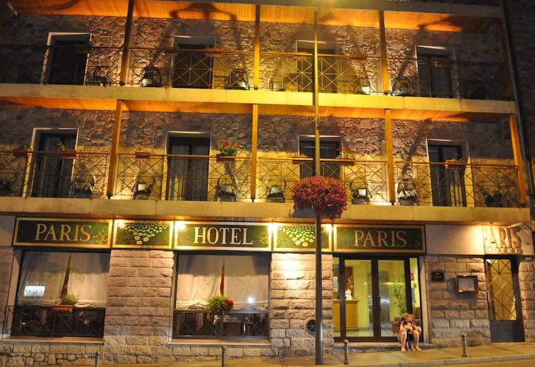 Hotel París, Enkama