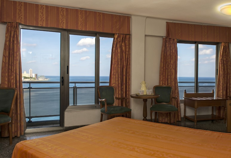Hotel Deauville, Havana, Double Room, Sea View, Guest Room