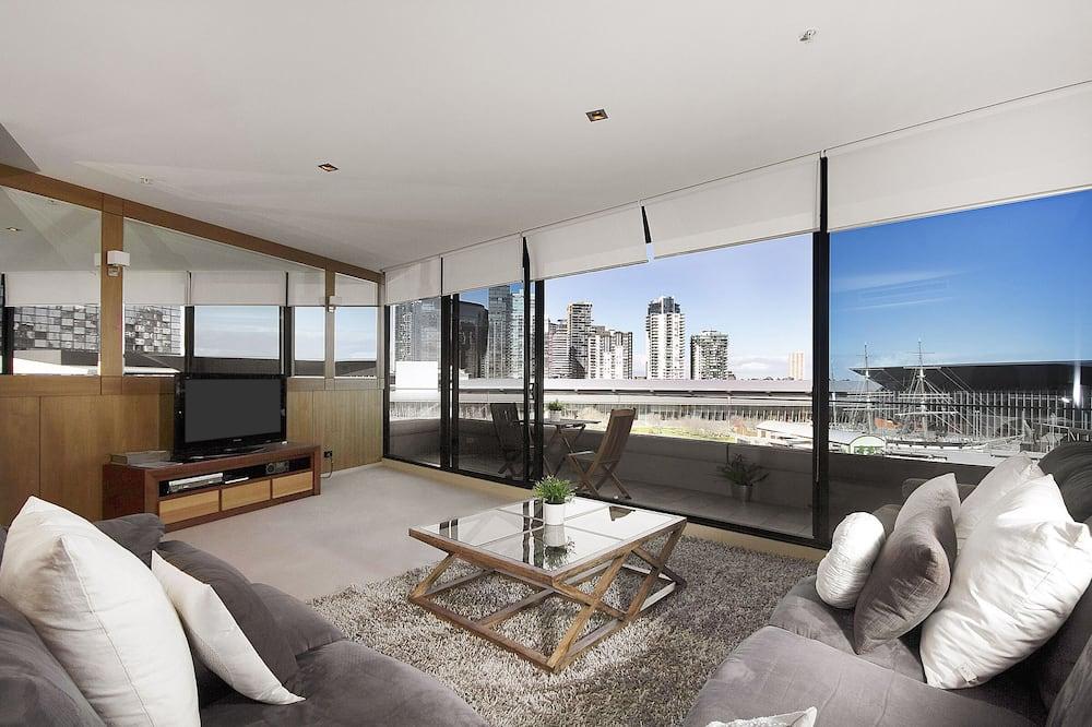 Appartamento Executive, 3 camere da letto, vista fiume - Area soggiorno
