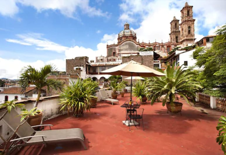 Hotel Los Arcos, Taxco, Terrace/Patio