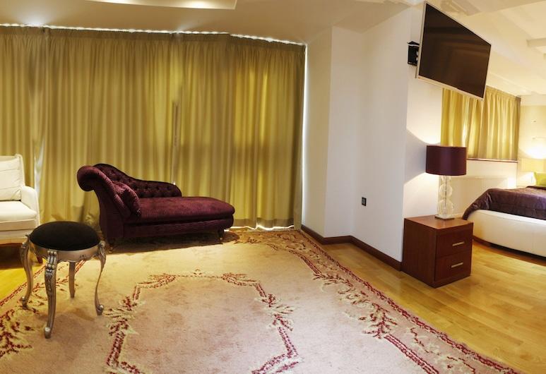 Garden Spa Boutique Hotel, Skopje, Deluxe Suite, Guest Room