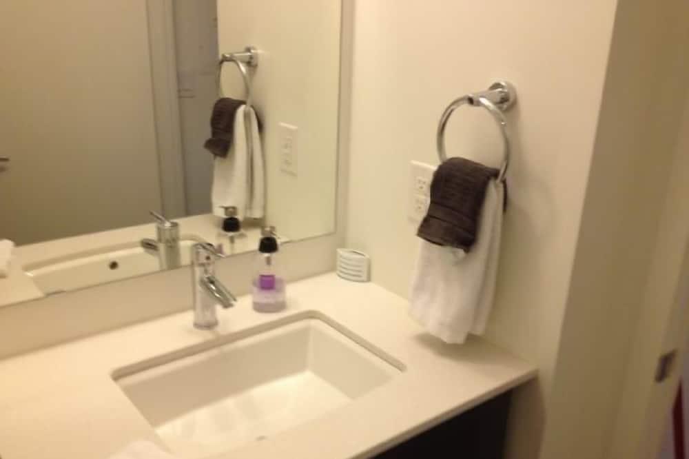 apartman, 2 hálószobával - Fürdőszobai felszereltség