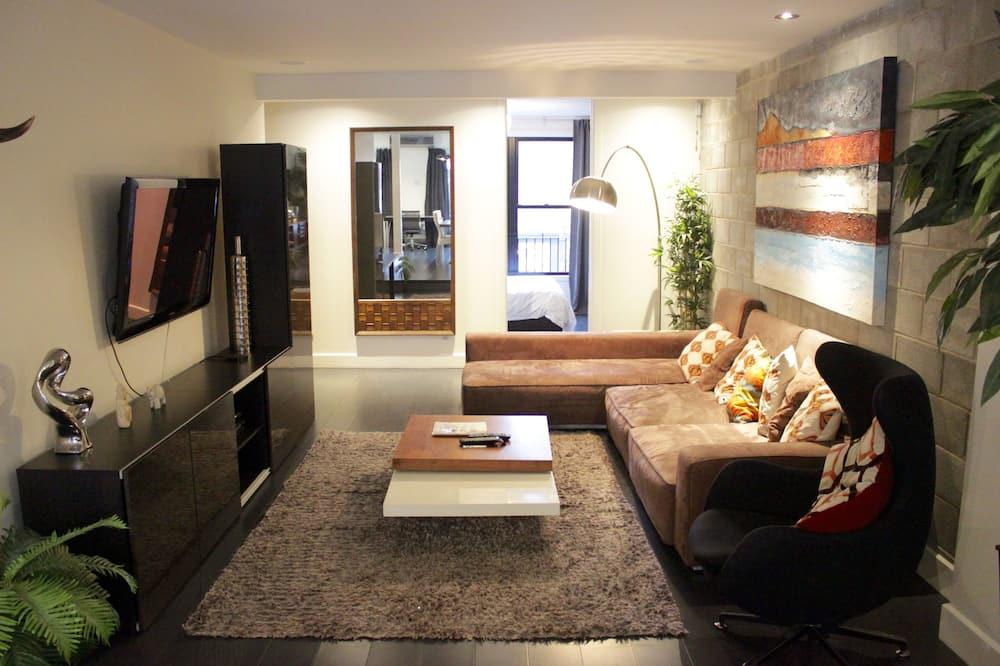 Apart Daire, 2 Yatak Odası (Le Penthouse) - Oturma Odası