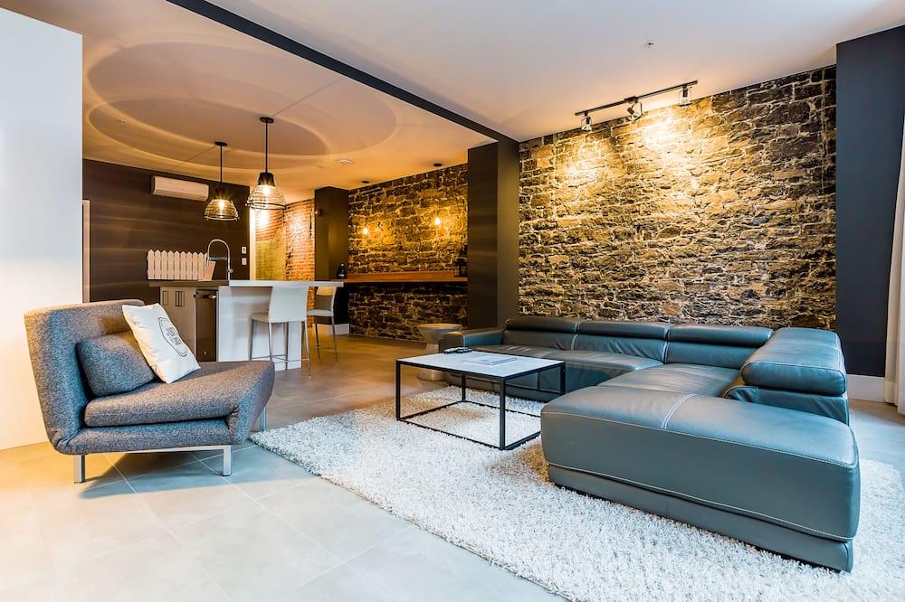 Loft, 2 habitaciones (102) - Sala de estar