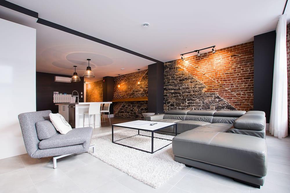 Loft, 2 habitaciones (202) - Sala de estar