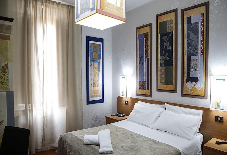 ART HOTEL ROMA, Roma, Tek Büyük Yataklı Oda, Oda