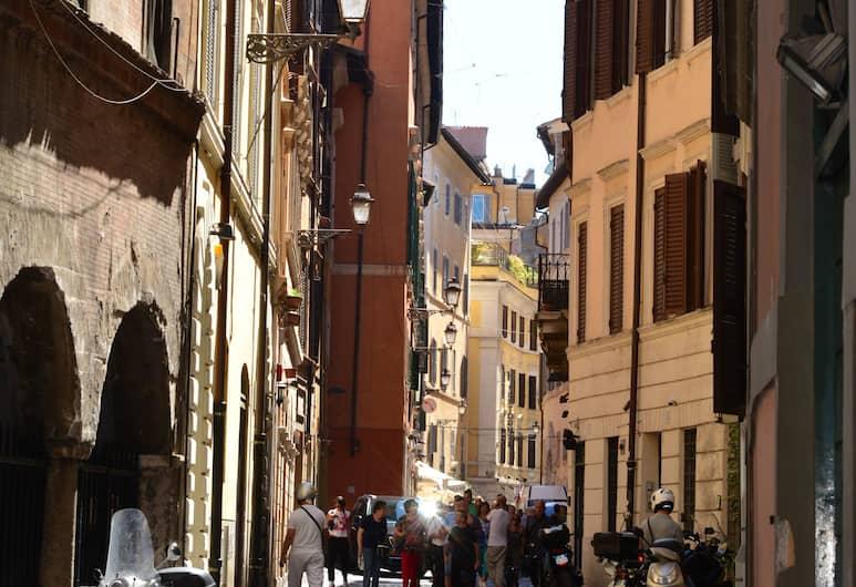 Antica Locanda dell'Orso, Rom, Udsigt fra hotellet