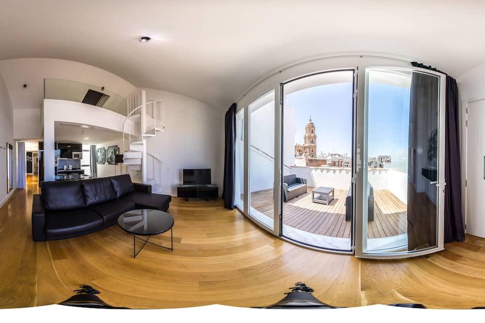 Deluxe Ρετιρέ, 3 Υπνοδωμάτια, Βεράντα - Θέα από το δωμάτιο