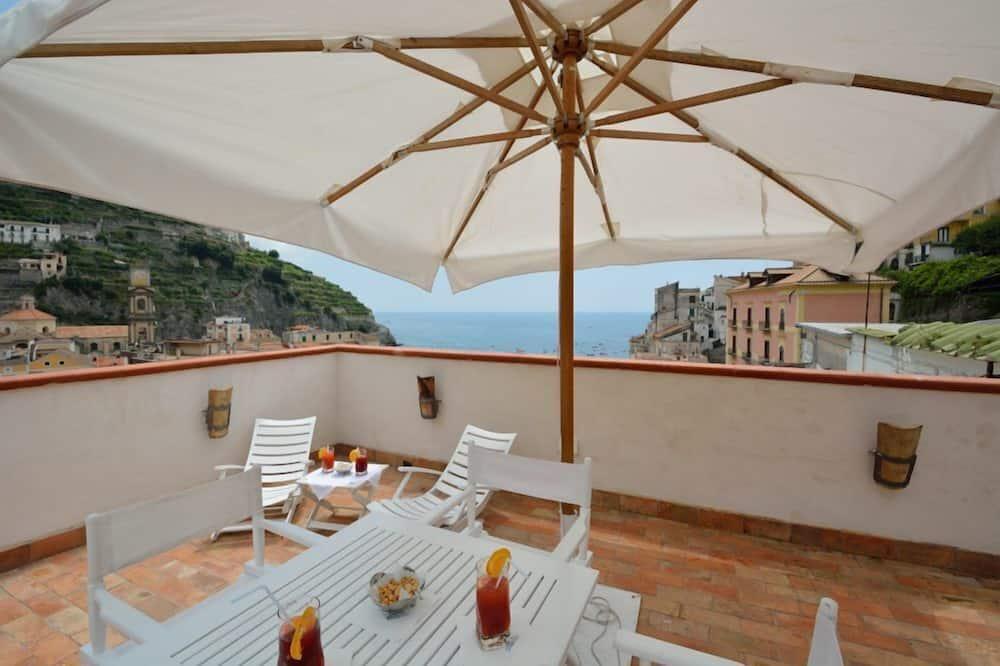 Apartamento, 2 habitaciones, terraza, con vistas - Terraza o patio