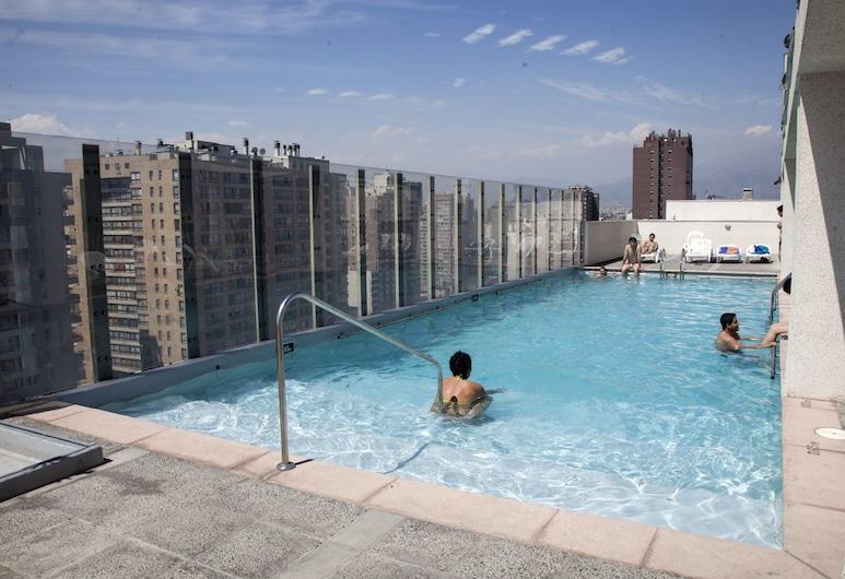 Acero Apartment, Santiago, Vonkajší bazén