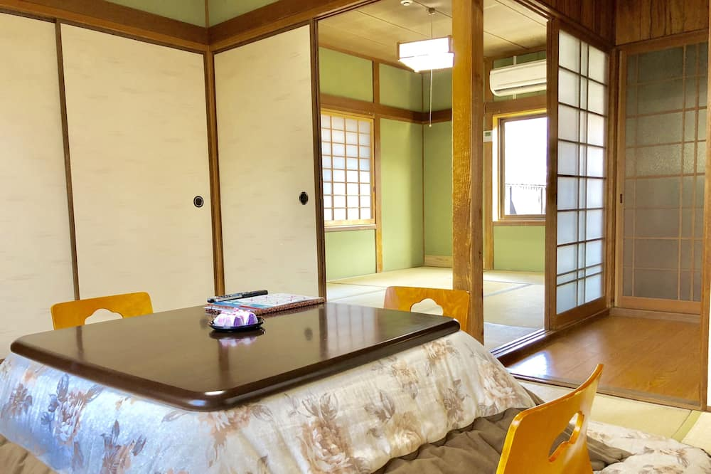 Japanese-Style Standard House with Shared Bathroom - Living Area