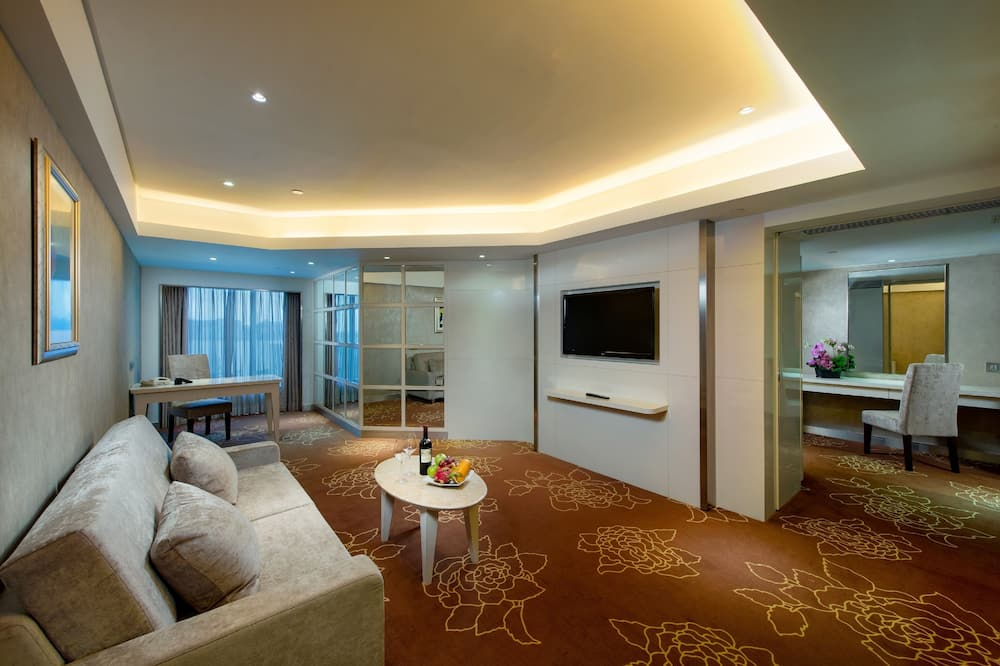 Suite Double or Twin Room  - Living Room