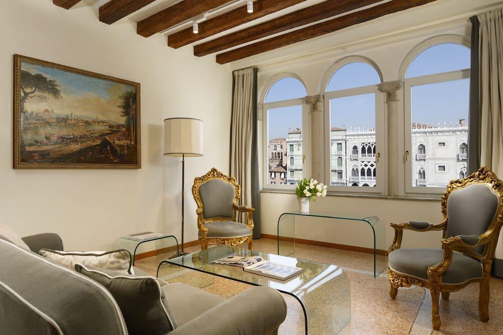Apartament typu Deluxe, 2 sypialnie, kuchnia, aneks - Powierzchnia mieszkalna