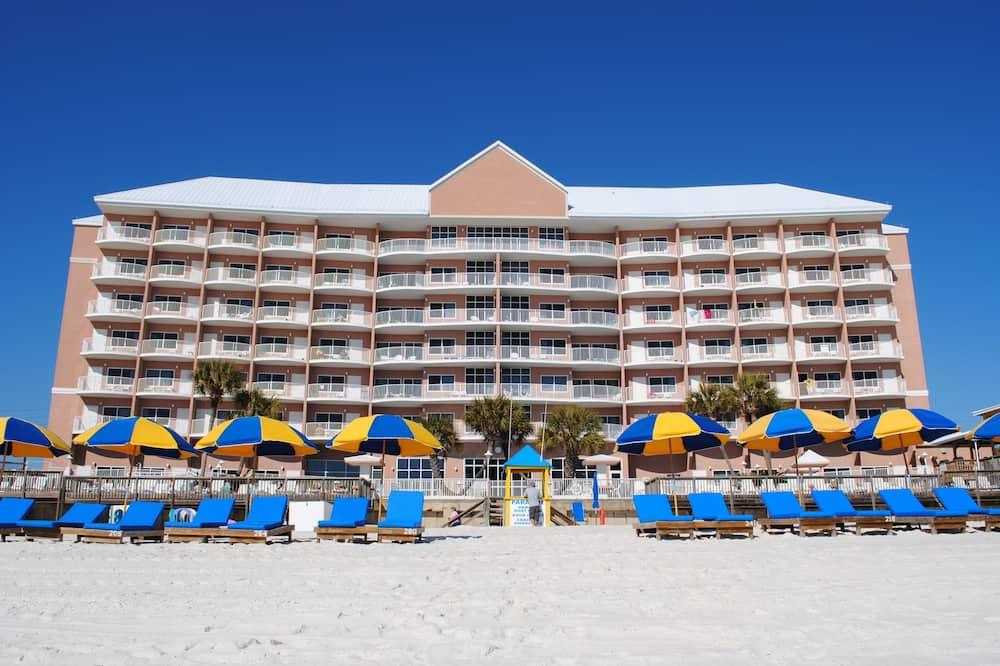 Camera, 2 letti queen, vista spiaggia - Immagine fornita dalla struttura