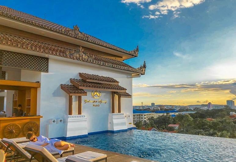 Yadanarpon Dynasty Hotel, Mandalay, Piscine en plein air