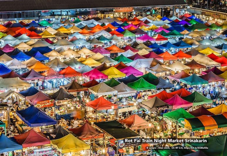 蘭甘亨莊園禪房酒店, 曼谷, 鳥瞰