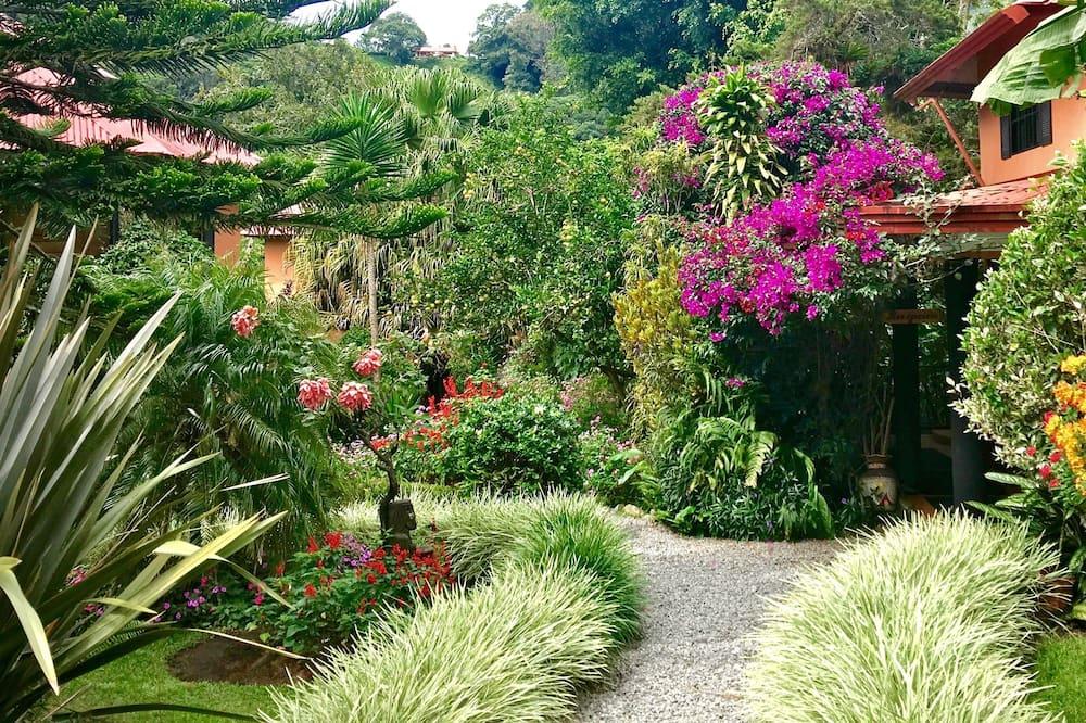 Zimmer (Queen Bed & Single Bed) - Garten