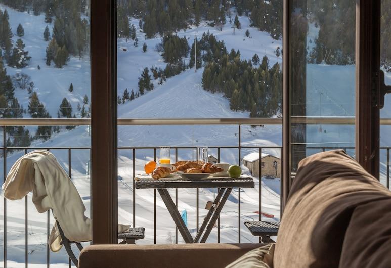 Pierre & Vacances Andorra Bordes d'Envalira, Bordes d'Envalira, Huoneisto, 4 makuuhuonetta, Terassi/patio