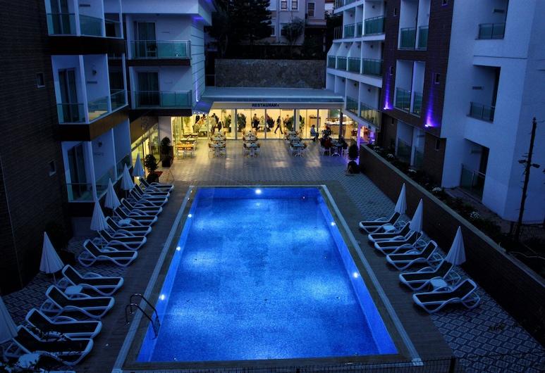 Kleopatra Atlas Hotel - All Inclusive - Adults Only, Alanya, Piscine en plein air
