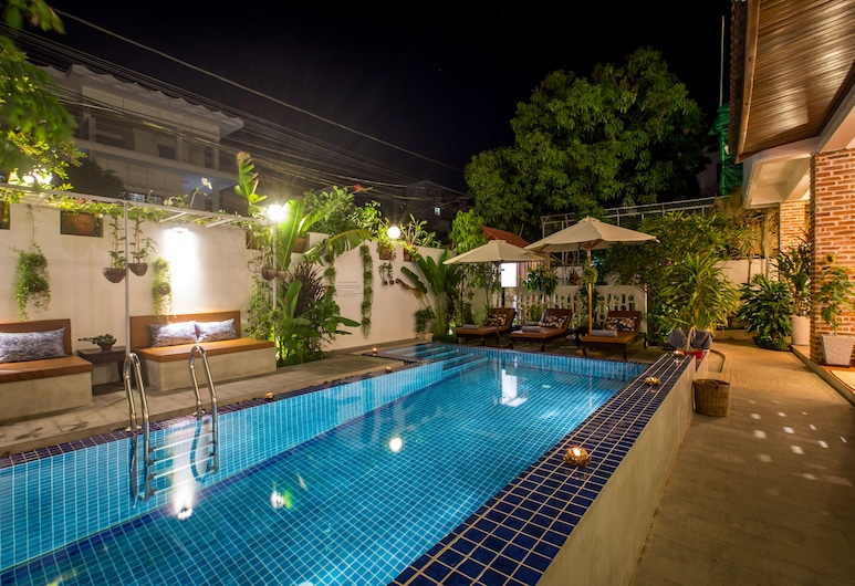 VMANSION Boutique Hotel, Phnom Penh, Buitenzwembad