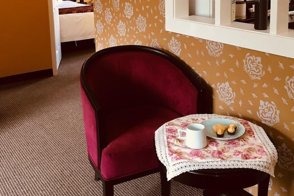 Suite, 2 habitaciones, cocina - Sala de estar
