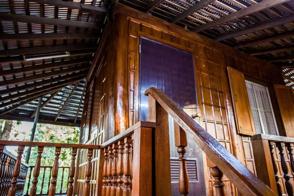 Bungalow, 2Schlafzimmer - Balkon
