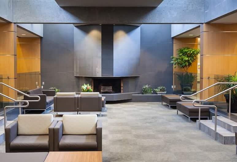 Gage Residence at UBC, Vancouver, Priestory na sedenie v hale