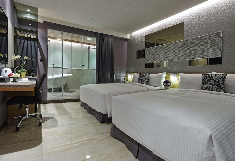 碩美精品旅店, 台北市, 高級四人房, 客房
