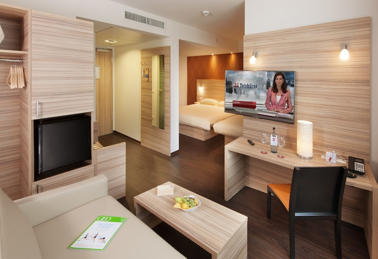 Star Inn Hotel Stuttgart Airport-Messe, Stuttgart, Suite, Guest Room
