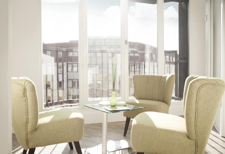 Apartments Rosenthal Residence, Berlin, Lägenhet Grand - 3 sovrum, Balkong