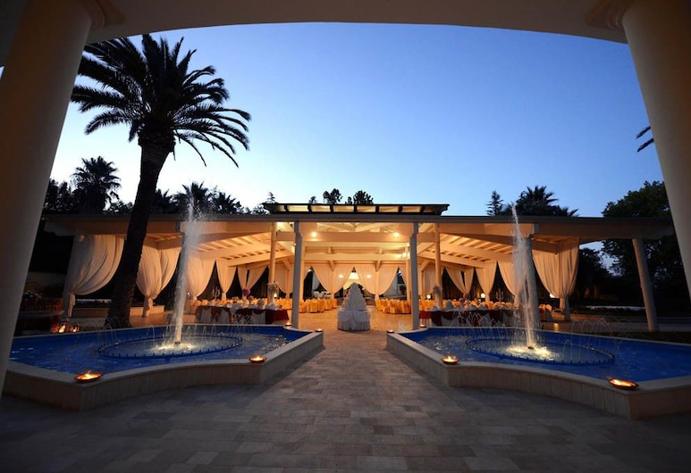 Hotel La Corte, מטרה, שטחי הנכס