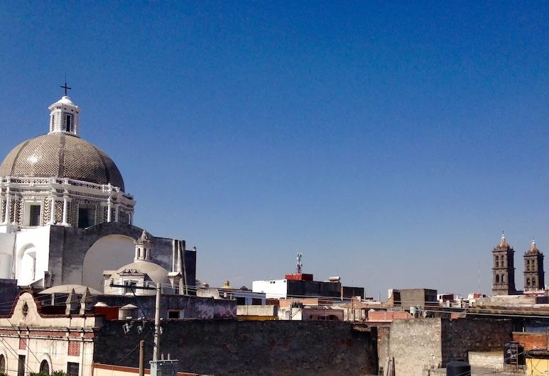 Meson Sacristia de la Soledad, Puebla, Terras