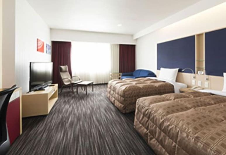 Hotel North City, Σαπόρο, Τρίκλινο Δωμάτιο (2 Single bed + 1 Sofa bed)), Δωμάτιο επισκεπτών