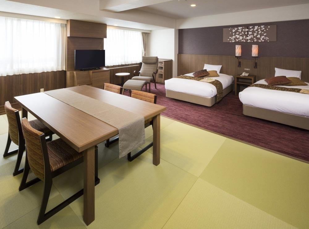 登別湯本溫泉酒店, 登別, 傳統客房, 非吸煙房 (Japanese & Western Style), 客房