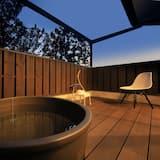 Deluxe-Zweibettzimmer, Nichtraucher - Privater Whirlpool