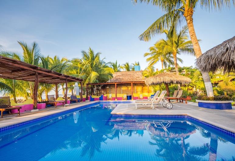 Hotel Meson de Mita, ปุนตา เดอ มิตา, สระว่ายน้ำกลางแจ้ง