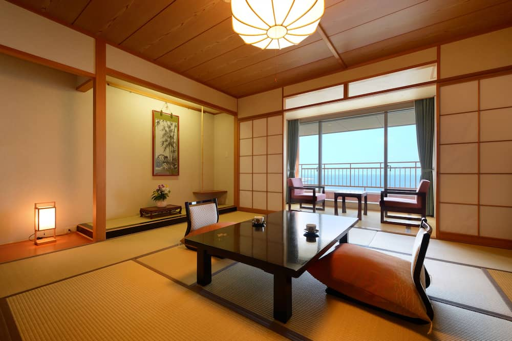 Традиційний номер, для курців, з видом на море (Japanese-style) - Житлова площа