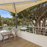 Leilighet – deluxe, 1 kingsize-seng, utsikt mot park - Terrasse/veranda